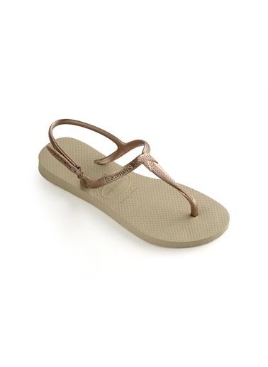 Havaianas Spor Sandalet Altın